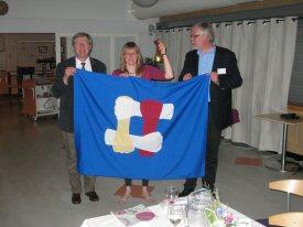 Flagg og bjelle